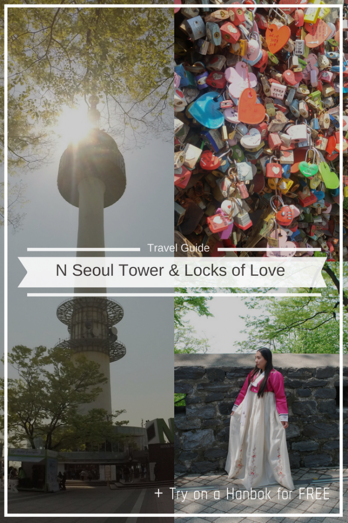 N Seoul Tower Pinterest