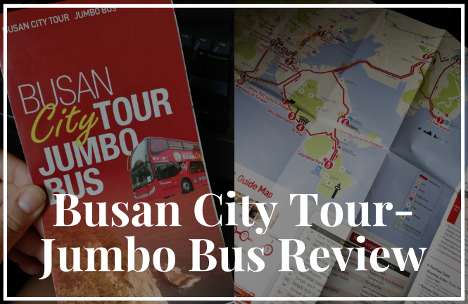 Busan City Tour Jumbo Bus