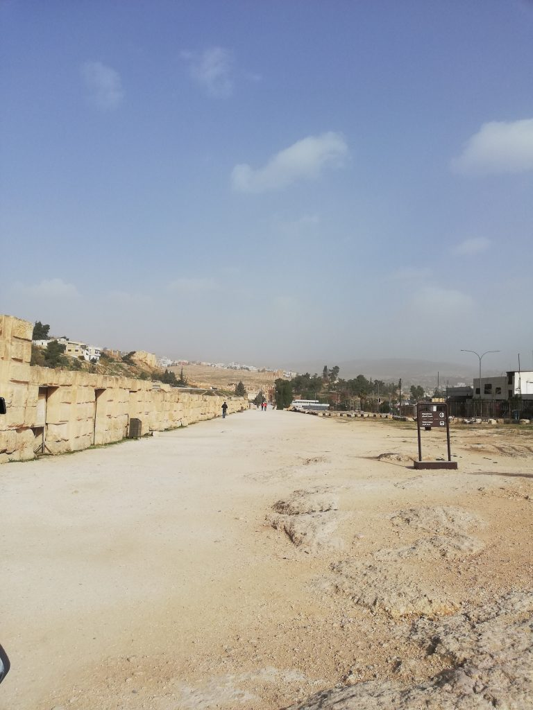 The Archaeological Site of Jerash
