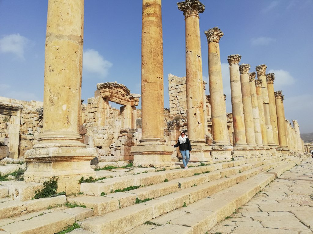 Colonnaded Street